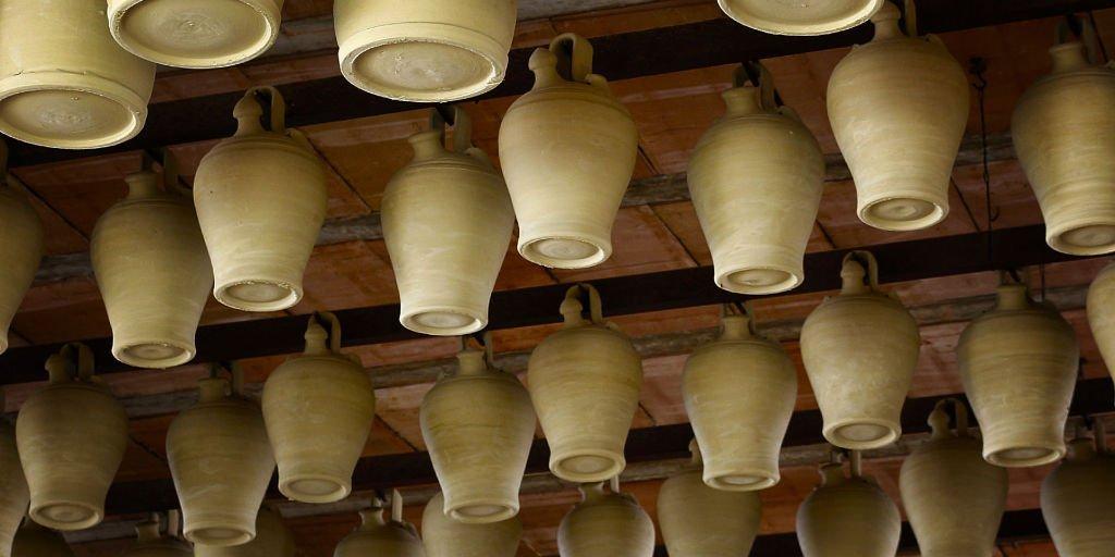 El último alfarero que hace botijos en La Rambla