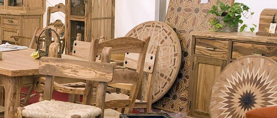 artesanos madera olivo montilla-moriles