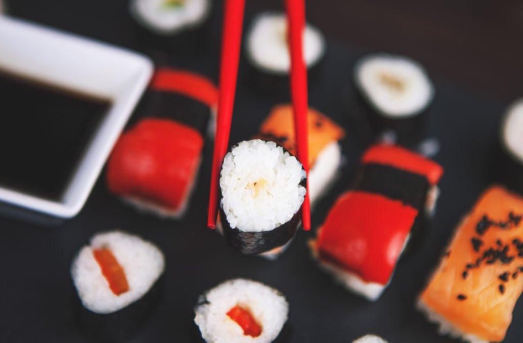 sushi - en clave de vino - we love montilla moriles