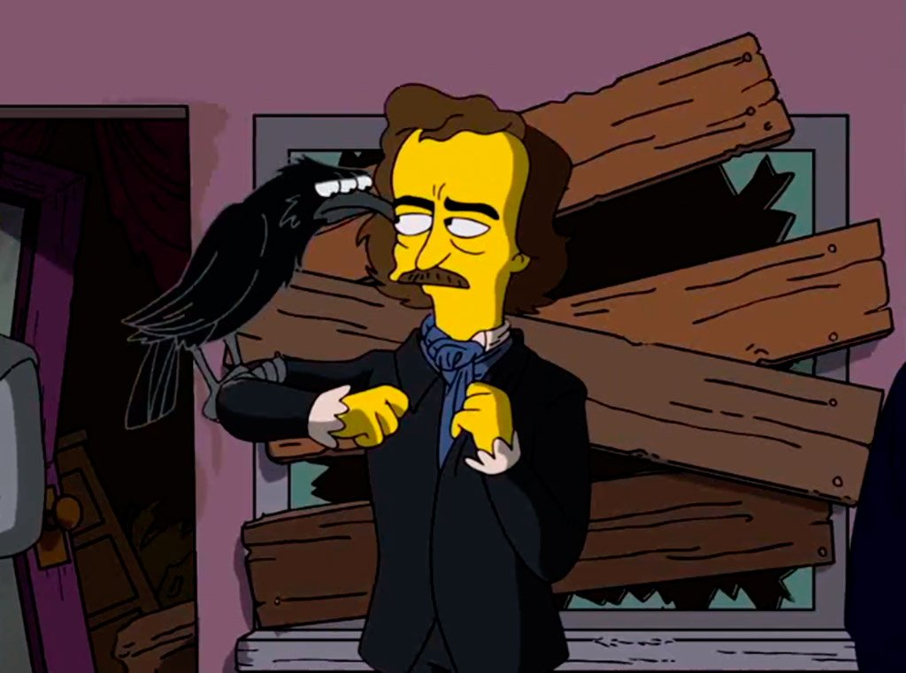 edgar allan poe simpsons we love montilla moriles