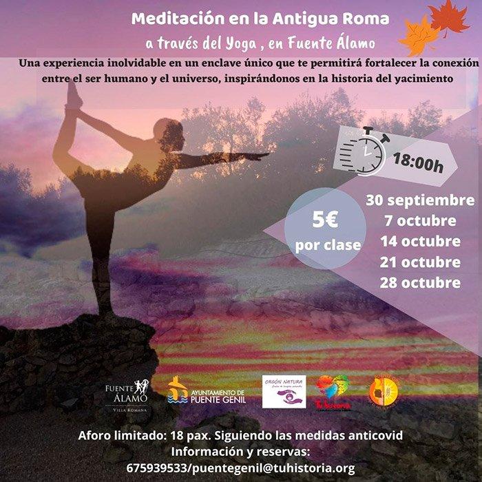 Yoga-en-la-Villa-Romana-de-Fuente-Álamo-we-love-montilla-moriles
