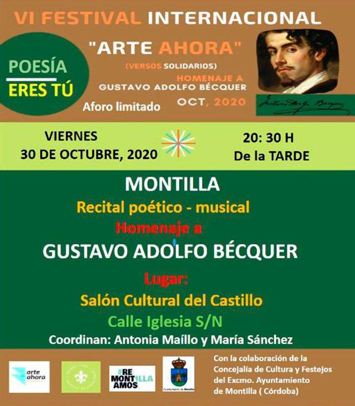 VI Festival Internacional Arte Ahora we love montilla moriles