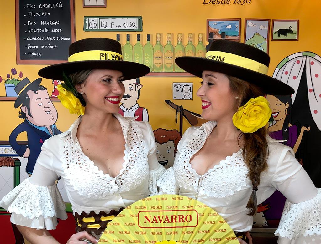 flamencas feria de jaen pilycrim bodegas navarro we love montilla moriles cordoba