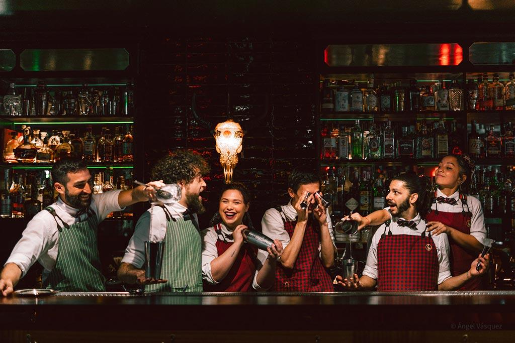 Adrián Sehob Salmon Guru bar team We Love Montilla Moriles Cordoba
