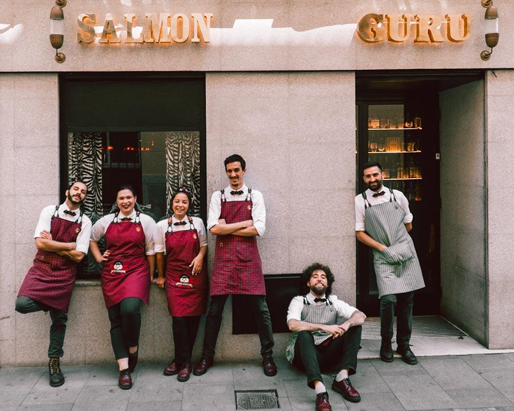 Adrián Sehob Bar Salmon Guru Equipo We Love Montilla Moriles Cordoba