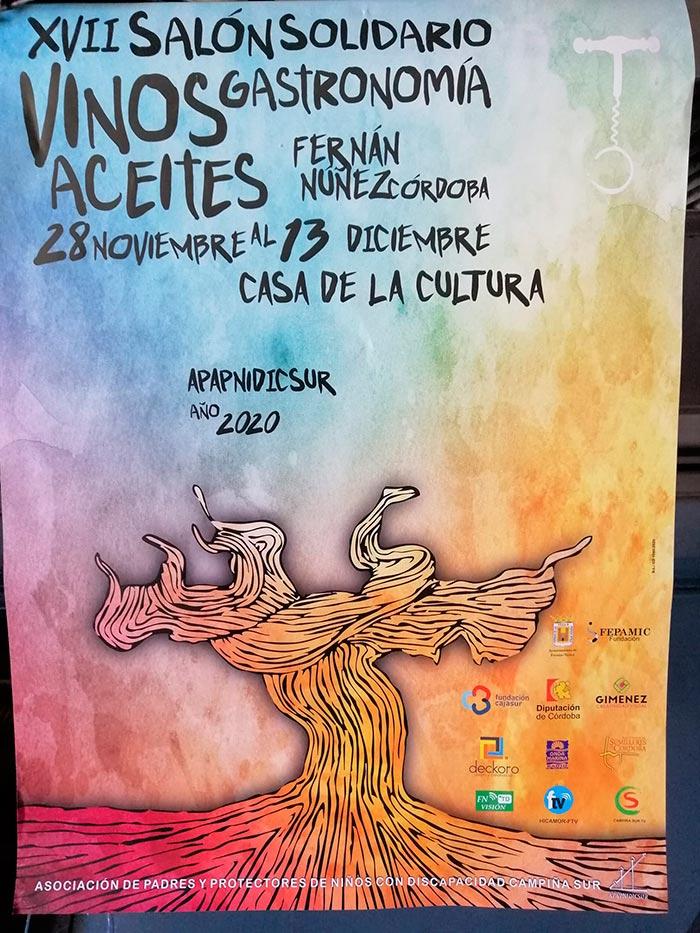 XVII Salón Solidario Vinos, Aceites y Gastronomía APAPNIDICSUR we love montilla moriles cordoba