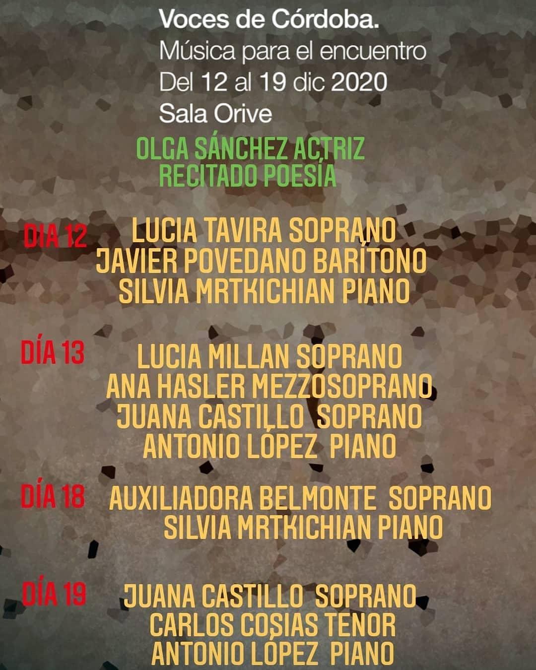 Voces de Córdoba musica para el encuentro we love montilla moriles cordoba