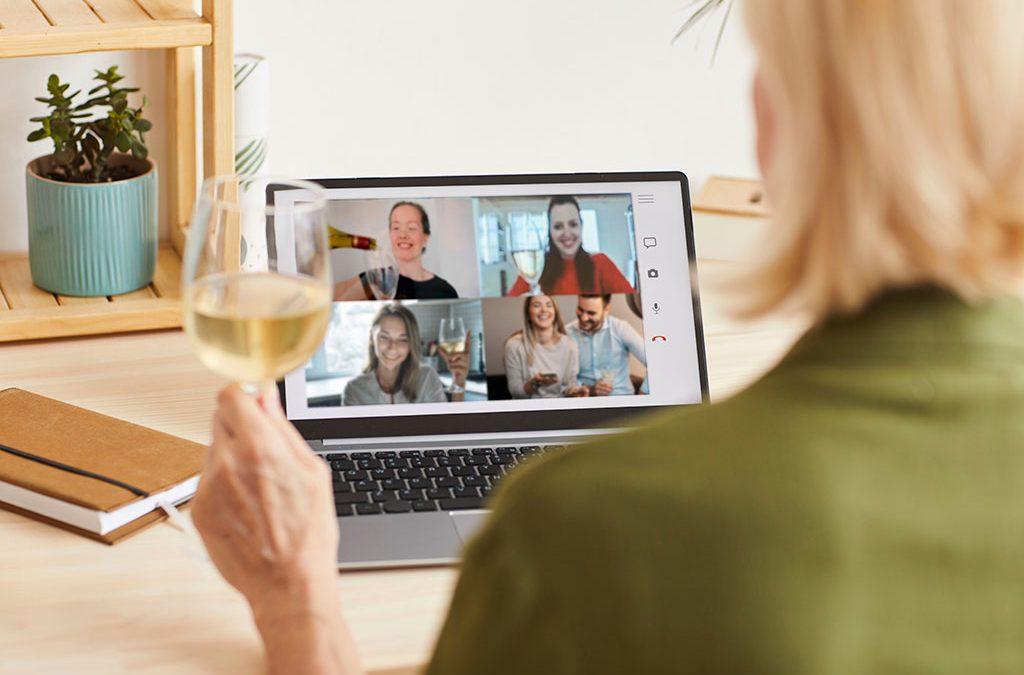 4 catas de vino online para hacer en familia y con amigos desde tu casa