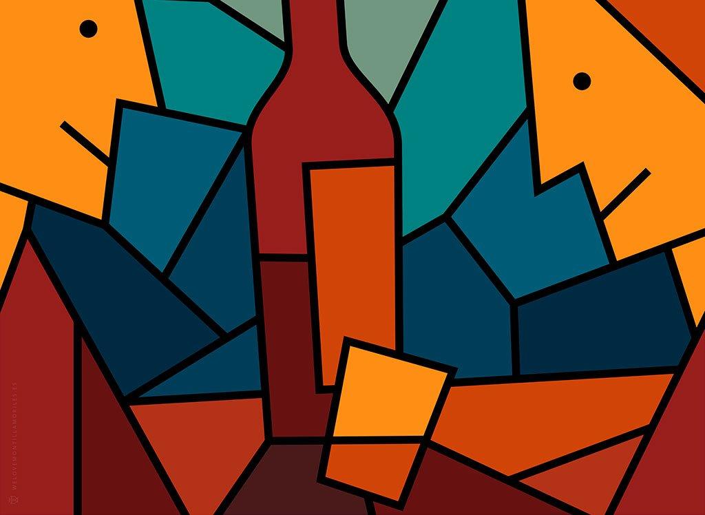 tomar una uvita ilustracion vinos we love montilla moriles cordoba