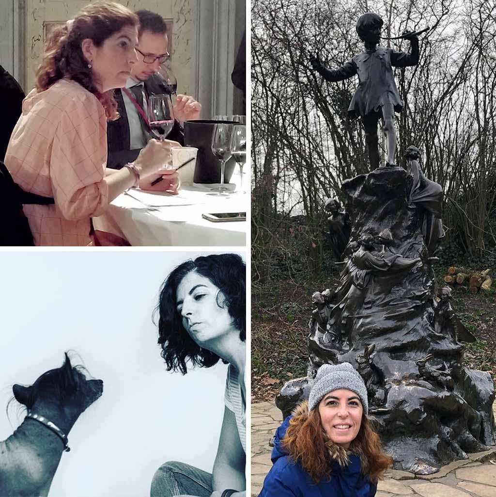 Raquel Pardo catando y puntuando vinos-We Love Montilla Moriles Cordoba