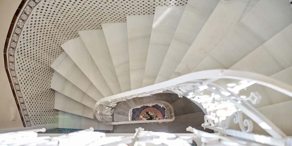 escaleras Casa de Los Lagares we love montilla moriles cordoba