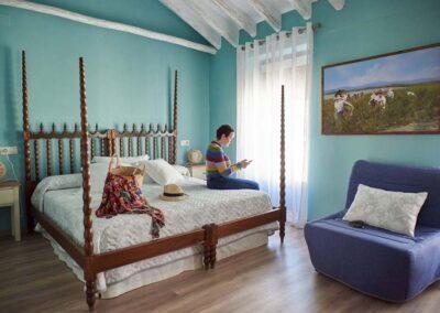 habitación de La Vendimia we love montilla moriles cordoba
