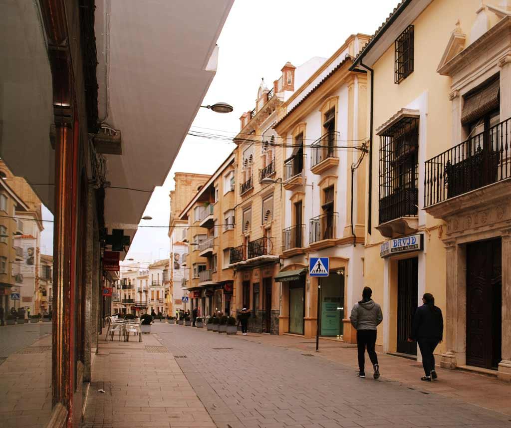 Calle-Corredera-Montilla we love montilla moriles cordoba