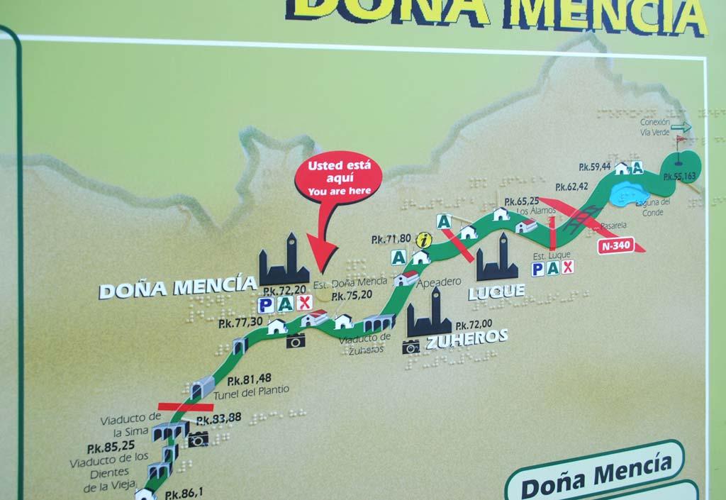 ruta doña mencia mapa we love montilla moriles cordoba