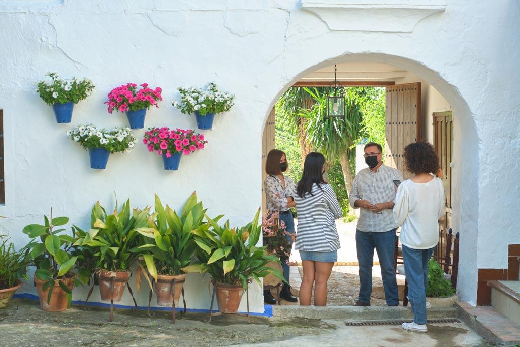 Patios de Bodega Cañada Navarro - We Love Montilla Moriles Cordoba