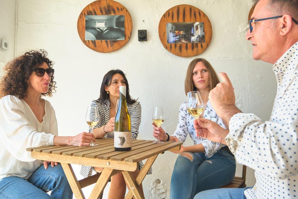 Patios de Bodega Cata Cañada Navarro - We Love Montilla Moriles Cordoba