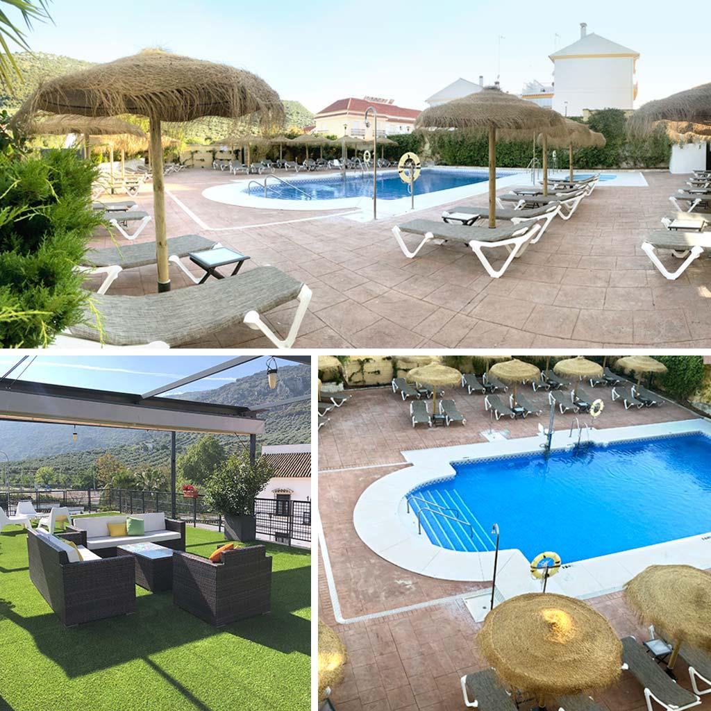 Hotel Nueva Mencía piscina - We Love Montilla Moriles Cordoba