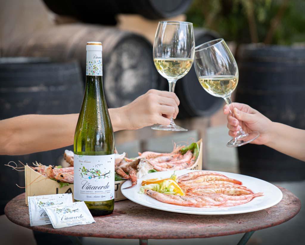 marisco con viña verde, hotel don gonzalo - we love montilla moriles