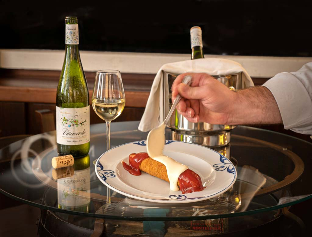 crispin con viña verde, meson el conde - we love montilla moriles