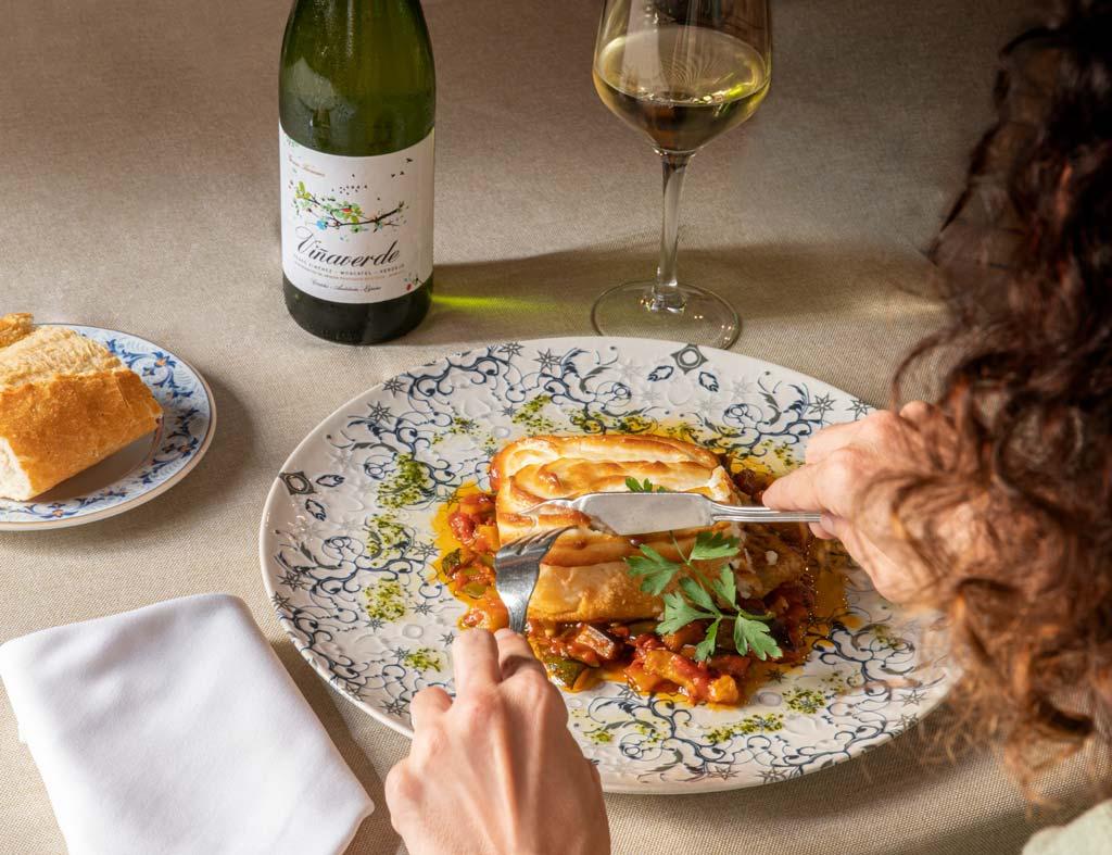 bacalao con viña verde, el quijote - we love montilla moriles